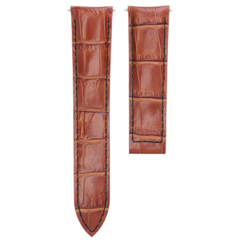 20MM REPLACEMENT LEATHER WATCH BAND STRAP FOR CARTIER TANK FRANCAISE WITH BUCKLE