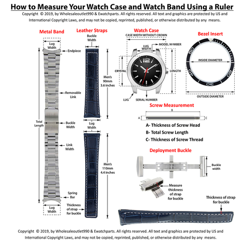 20MM WATCH BAND LINK FOR OMEG SPEEDMASTER MOON WATCH TWO TONE