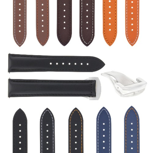 20-22-24MM LEATHER STRAP BAND FOR ORIS