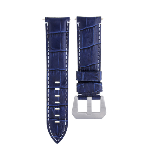 22-24MM GENUINE ITALIAN LEATHER WATCH BAND STRAP FOR ANY BRAND WATCH