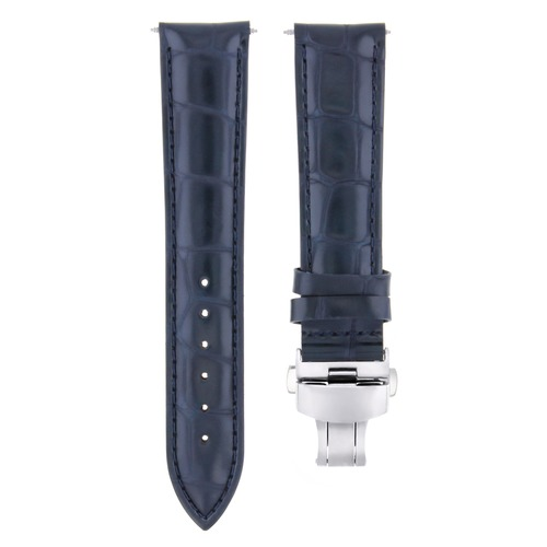 17-18-19-20-21-22-23-24MM LEATHER WATCH BAND STRAP FOR TUDOR DEPLOYMENT CLASP