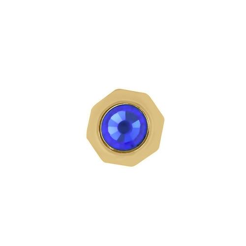 1 WATCH CROWN FOR 42MM CALIBRE DE CARTIER WATCH 3299 SAPPHIRE STEEL BLUE