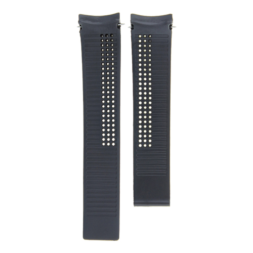 20-22MM RUBBER STRAP BAND FOR TAG HEUER CARRERA MONACO WATCH WITH CLASP