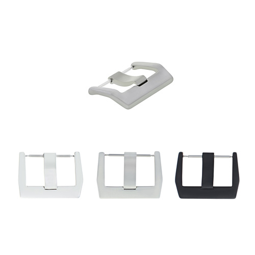 22-24MM BUCKLE FOR BELL & ROSS WATCH RUBBER BAND LEATHER STRAP BR01 BR02 BR03
