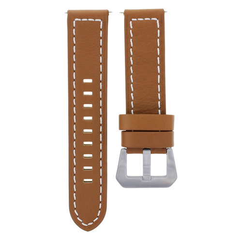 20-22-24MM GENUINE ITALIAN LEATHER WATCH BAND STRAP FOR ANY BRAND WATCH