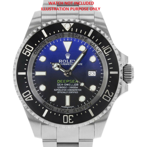 PEARL FOR BEZEL INSERT 44MM ROLEX DEEPSEA CERAMIC 116660 JAMES CAMERON BLUE USA
