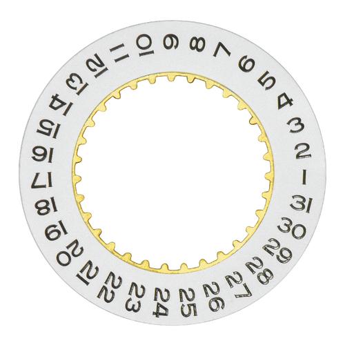 DATE DISC CALENDAR FOR ROLEX DATEJUST 3136 3156 3187 Explorer II 216570 WHITE