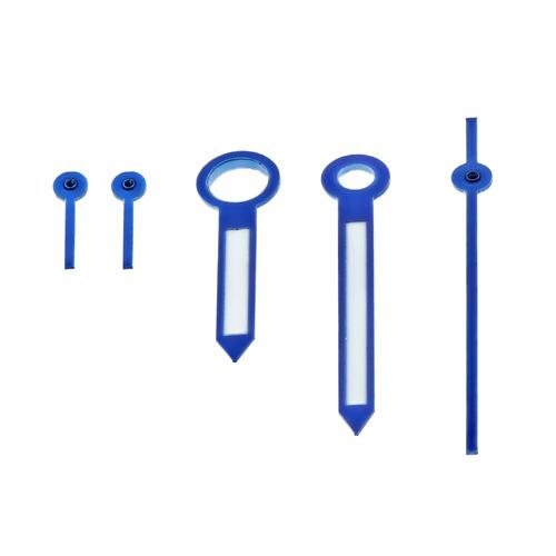 WATCH HAND FOR BREITLING WATCH MOVEMENT VALJOUX ETA 7750-7753  BLUE