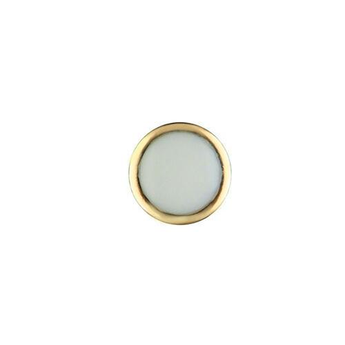 PEARL PIP FOR BEZEL INSERT ROLEX SUBMARINER CERAMIC 116618 BLUE LUME GOLD USA