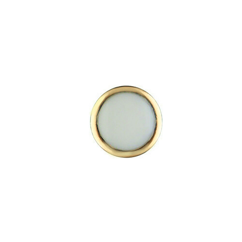 PEARL PIP FOR BEZEL INSERT ROLEX SUBMARINER CERAMIC 116618LB BLUE LUME GOLD USA