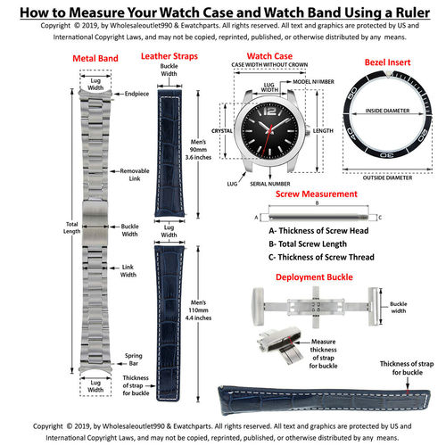3 18MM LINK FOR OMEGA WATCH SEAMASTER WATCH BAND 2562.20.00, 2561.80.00,2063.80