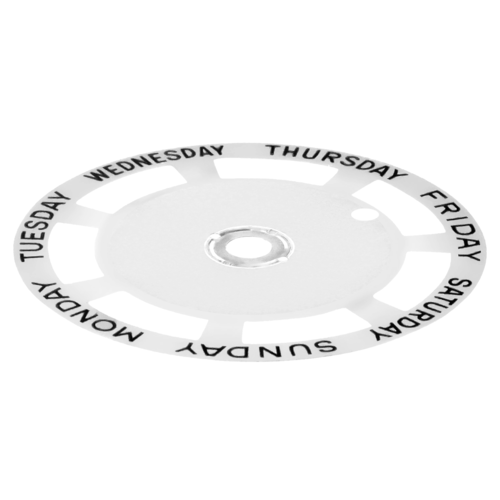 DAY DISC FOR MOVEMENT TUDOR 7017/0, 7019/3,9450, 76200, 76213, 76214 94710 WHITE