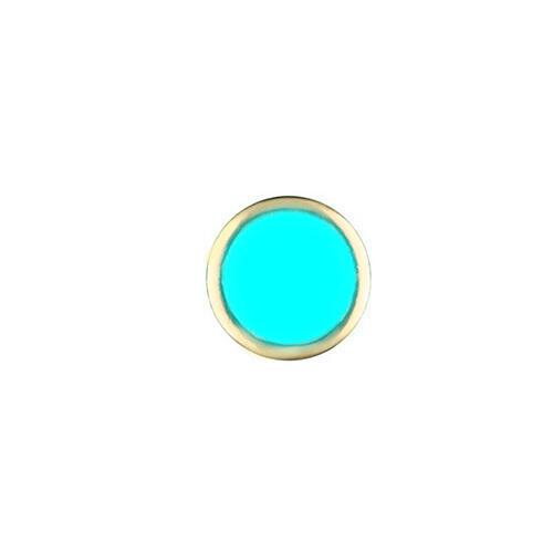 3 PC PEARL PIP FOR BEZEL INSERT ROLEX SUBMARINER 116610 116613 BLUE LUM GOLD USA
