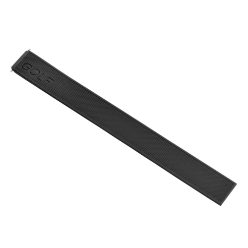 22MM SILICONE RUBBER WATCH BAND FOR TAG HEUER  WAE1111  WAE1112 GOLF BLACK TOP Q