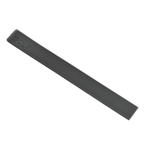 22MM SILICONE RUBBER WATCH BAND FOR TAG HEUER  WAE1113  WAE1114 GOLF BLACK TOP Q