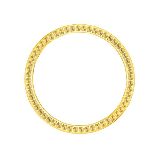 BEZEL FOR DIAMOND 34MM ROLEX 5500,15000 15010 14000M ,114200 GOLD