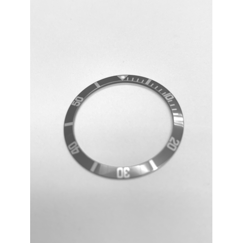 BEZEL INSERT FADED FAT NUMBERS FOR ROLEX SUBMARINER 1665 5508 5513 1680  GRAY