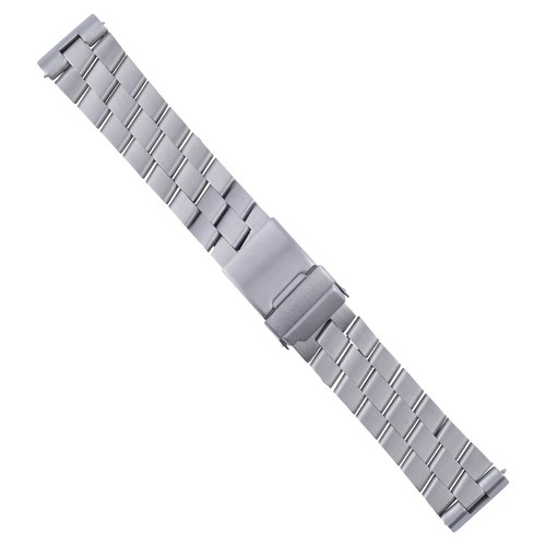 24MM WATCH BAND BRACELET FOR BREITLING SUPER AVENGER 3 LINKS S/STEEL MATTE