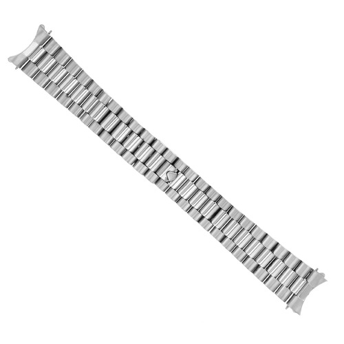 20MM PRESIDENT WATCH BAND FOR ROLEX DATEJUST 16013 16014 16233 REMOVEABLE END SS