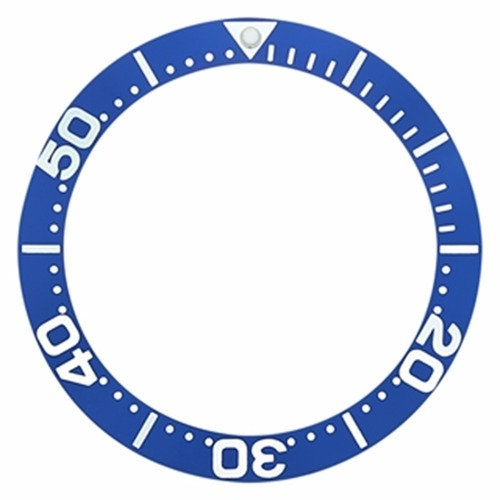BEZEL INSERT FOR 47MM INVICTA 1055 3044 3045 3047 6534 10641 DIVER GRAND BLUE