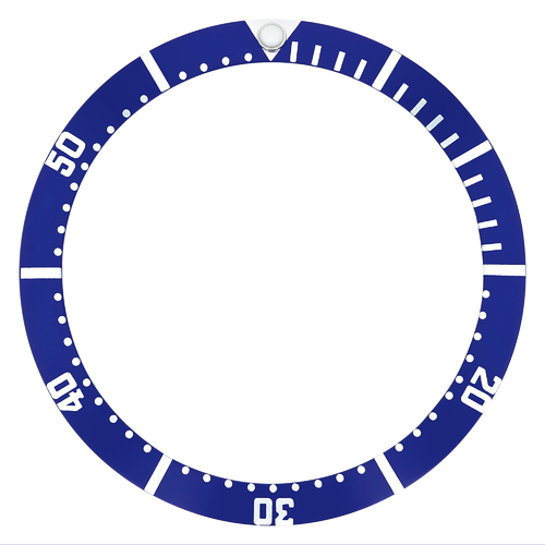 BEZEL INSERT FOR TAG HEUER 1000 BLUE
