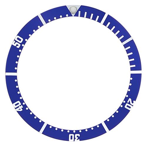 BEZEL INSERT FOR TAG HEUER 1000 WATCH BLUE