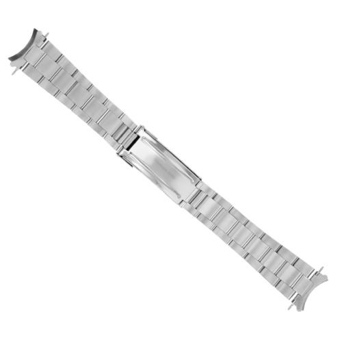OYSTER WATCH BAND BRACELET FOR ROLEX SUBMARINER WATCH STAINLESS STEEL FLIP LOCK