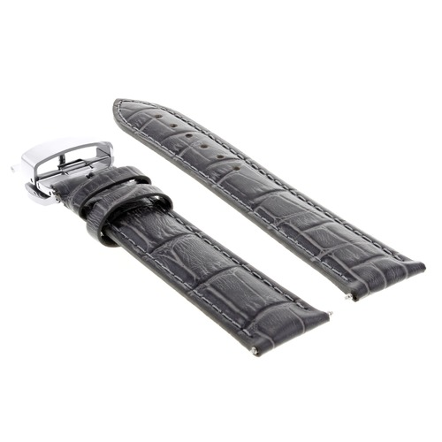 17,18,19,20,20,21,22,23,24MM LEATHER BAND STRAP CLASP FOR LONGINES WATCH 2B