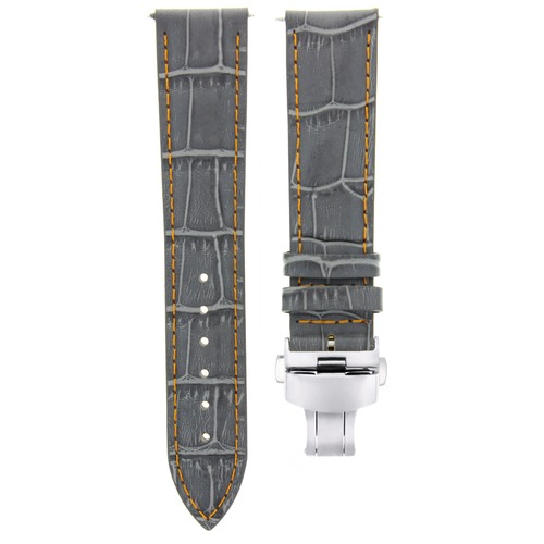 17,18,19,20,20,21,22,23,24MM LEATHER BAND STRAP CLASP FOR STAUER MEISTERZEIT