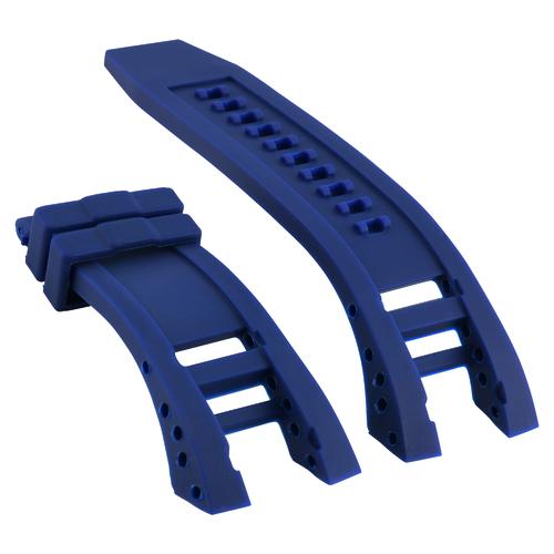 RUBBER WATCH BAND STRAP FOR INVICTA SUBAQUA NOMA IV 4 6564 6584 6585 6587 BLUE