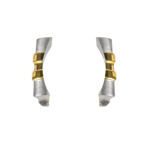 19MM CUSTOM STRAP END LINK JUBILEE FOR 34MM ROLEX AIR KING 1500 5500 TWO TONE
