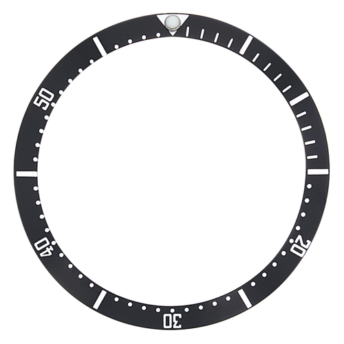BEZEL INSERT FOR TAG HEUER TAG 973.013R  WATCH 30 X 25MM BLACK