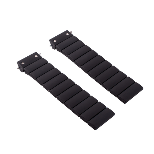23MM RUBBER DIVER WATCH BAND STRAP FOR FIT FOR CARTIER 100XL WATCH BLACK