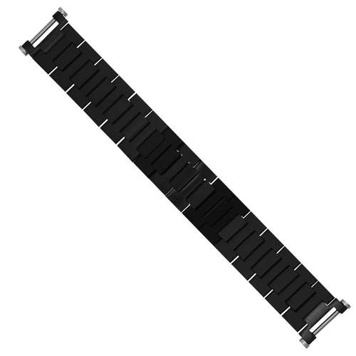 WATCH BAND BRACELET FOR FIT 42MM CARTIER PASHA SEATIMER W31077U2 3025 2790 BLACK