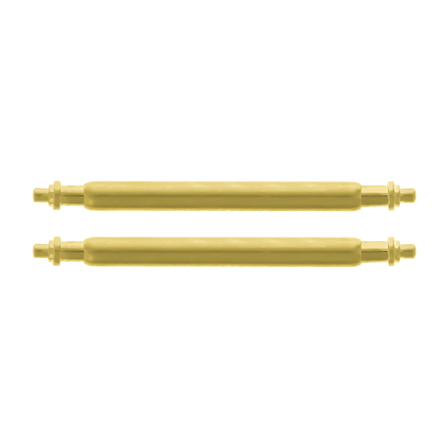 2 - 17MM SPRING BAR PIN FOR 31MM ROLEX MIDSIZE JUNIOR YACHTMASTER 6827  GOLD