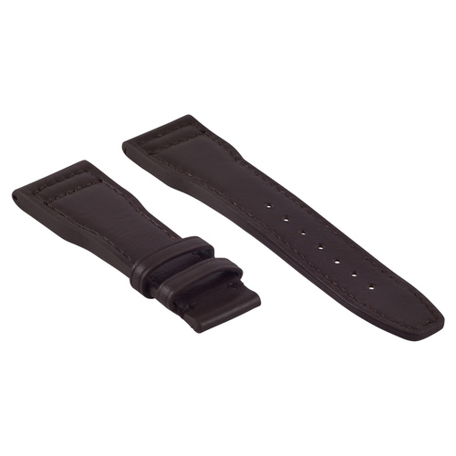 20MM CALF LEATHER WATCH STRAP BAND DEPLOYMENT CLASP FOR IWC PILOT BBROWN WS