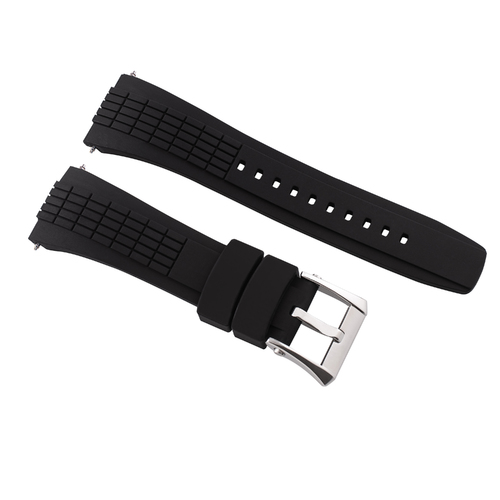 26MM RUBBER WATCH BAND STRAP FOR SEIKO VELATURA KINETIC SRH006/SPC007 YACHTING