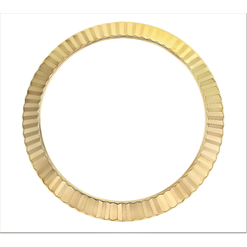 FLUTED  BEZEL FOR 41MM ROLEX DATEJUST II  DAY DATE II 116300 116333 116344 GOLD