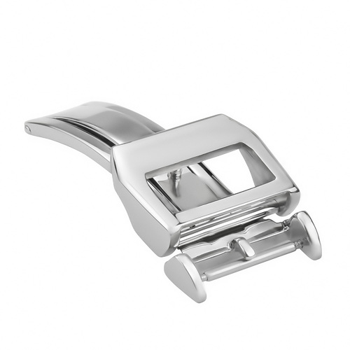 20MM DEPLOYMENT STRAP BAND BUCKLE FOLDING CLASP FOR IWC PILOT PORTUGUESE SHINY