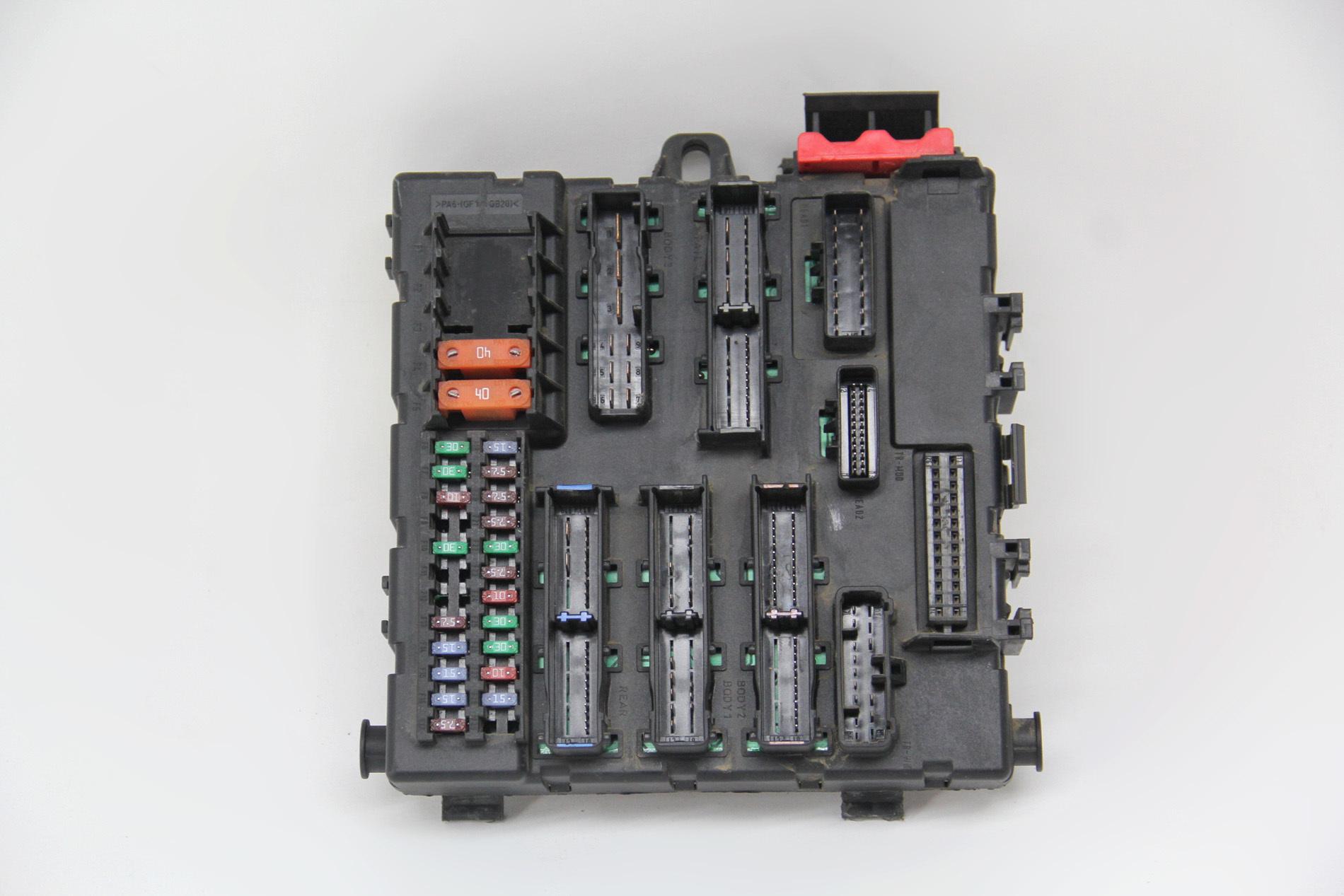 2005 saab 9 3 interior fuse box saab 9 3 tid fuse box saab 9-3 interior rear fuse box 12805847 oem 03 04 05 06 ... #7