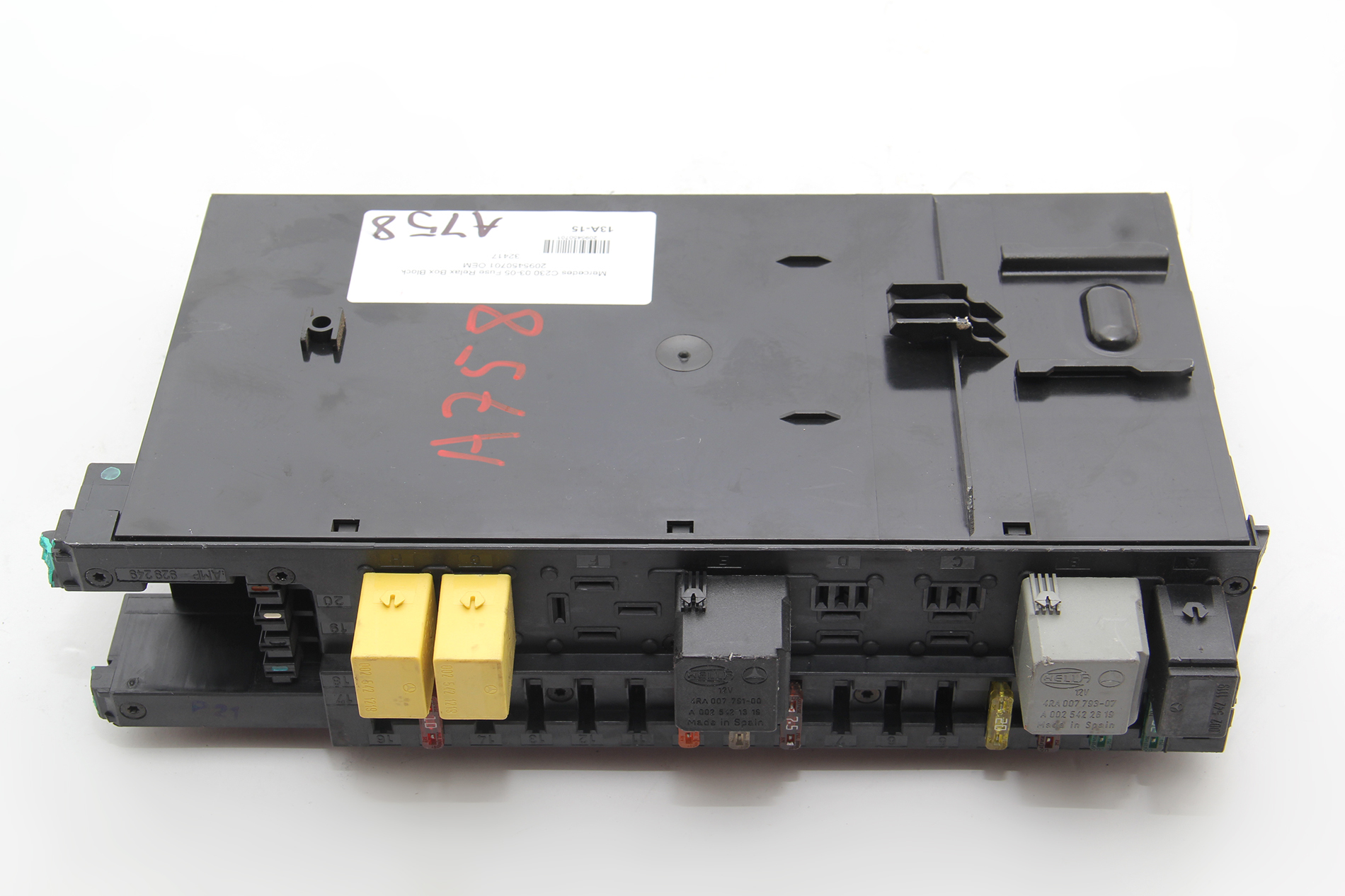 Mercedes C230 Fuse Relax Box Block 2095450701 Oem 2003