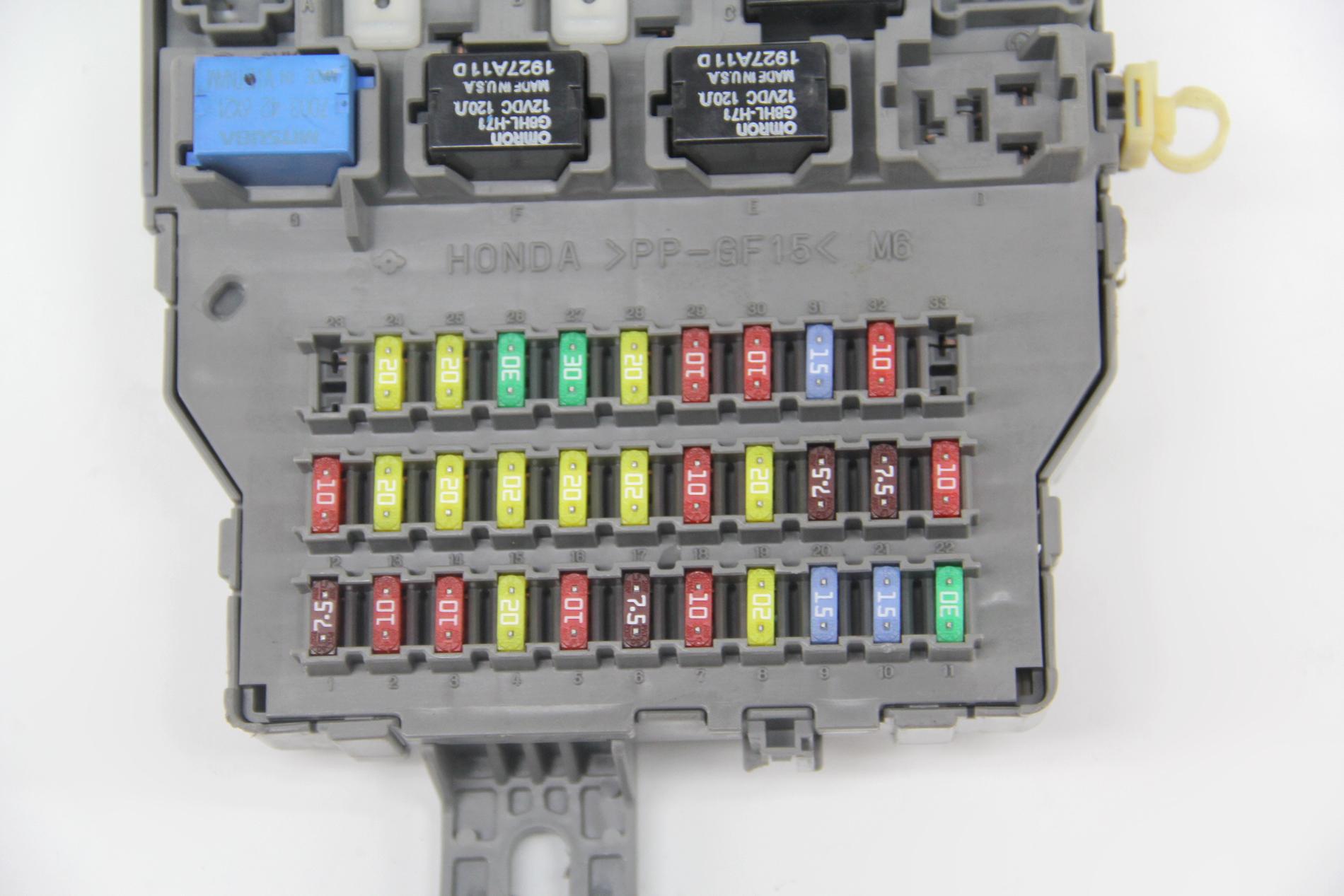 1993 Suzuki Sammi 13 Fuse Box Diagram