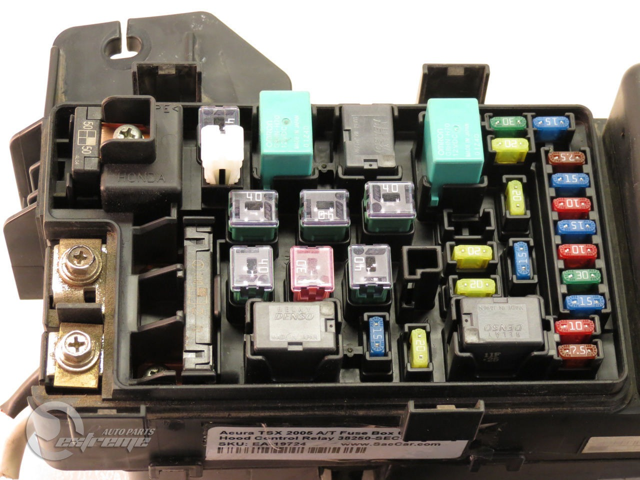 2005 Acura Tsx Fuse Box Wiring Diagrams 2004 Diagram A T Under Hood Control Relay 38250 Rsx
