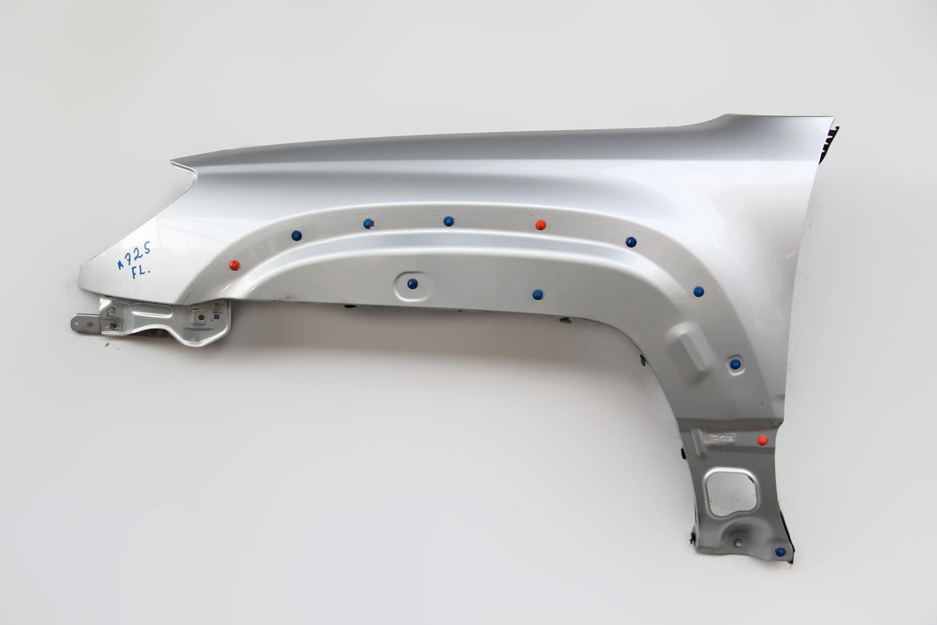 Toyota 4Runner 03-05 Fender Panel Left/Driver Silver 53802-35620 Factory OEM