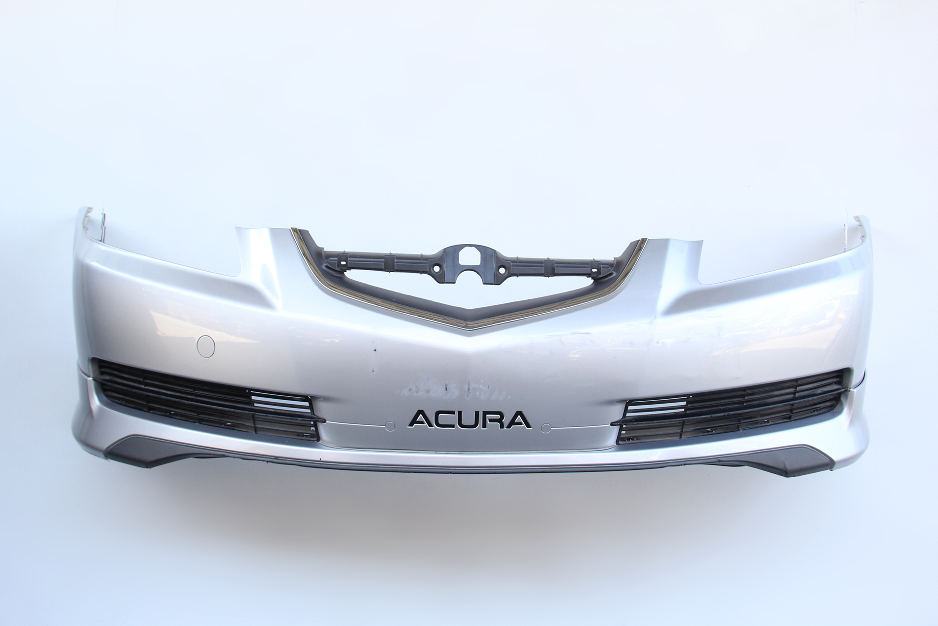 Acura Tl 04 05 06 Front Bumper Cover Silver W Spoiler A Spec 04711 Sep A90zz Oem Extreme Auto Parts