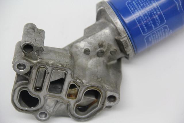 Honda Accord V6 Engine Spool Valve Oil Filter Holder Solenoid Housing OEM 08-12