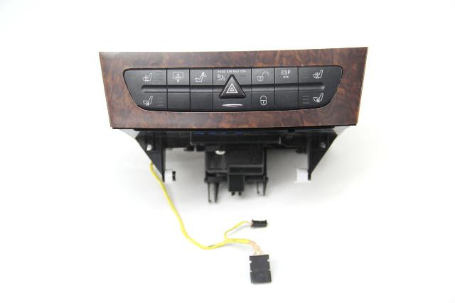 Mercedes CLS500 Hazard Seat Warmer 211870539088 OEM 06-10