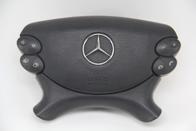 Mercedes-Benz CLS500 Left Driver Wheel Airbag Air Bag Black 2006 OEM 2198601502