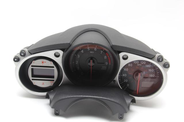 Nissan 370Z 2010 Speedometer Instrument Cluster Meter M/T N/A Miles OEM