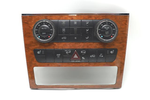 Mercedes Benz GL450 A/C Heater Climate Control 2518209889 OEM 06-09 A941 2006, 2007, 2008, 2009
